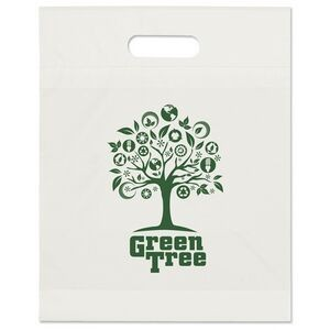 "Eco Die Cut Handle Bag (12""x15""x3)"