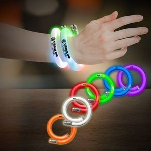 Flashing Coil Tube Bracelets