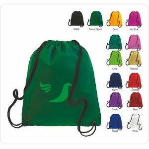 Q-Tees Drawstring Back Pack