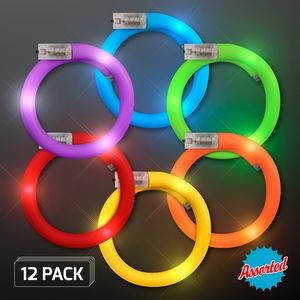 Assorted LED Flash Tube Bracelets