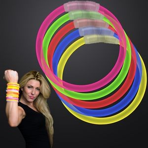 Assorted Color 8 inch Glow Bracelet